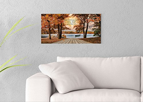 Embrace Life Printed on 24x12 Canvas Wall Art by - Canvas Embrace Stretched