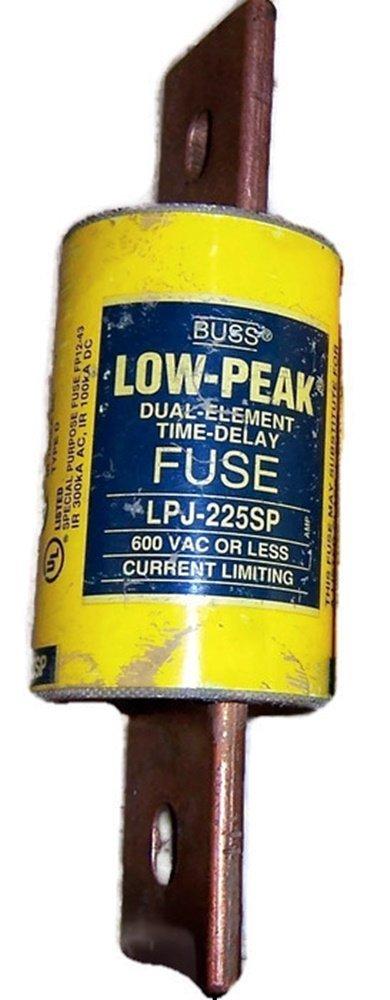 Fuse, 225A, 600VAC/300DC, Delay, Ser LPJ LPJ-225SP