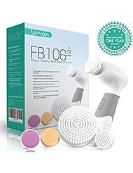 VOYOR 5-IN-1 Face Brush Exfoliation Facial Brush Microdermabrasion...