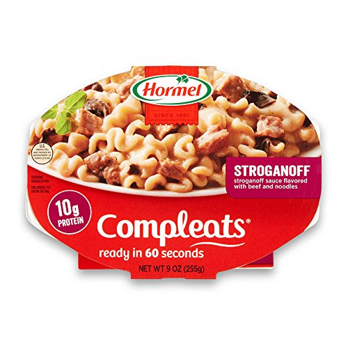 Hormel Compleats Stroganoff Sauce Flavored with Beef, 9 Ounce (Pack of 6)