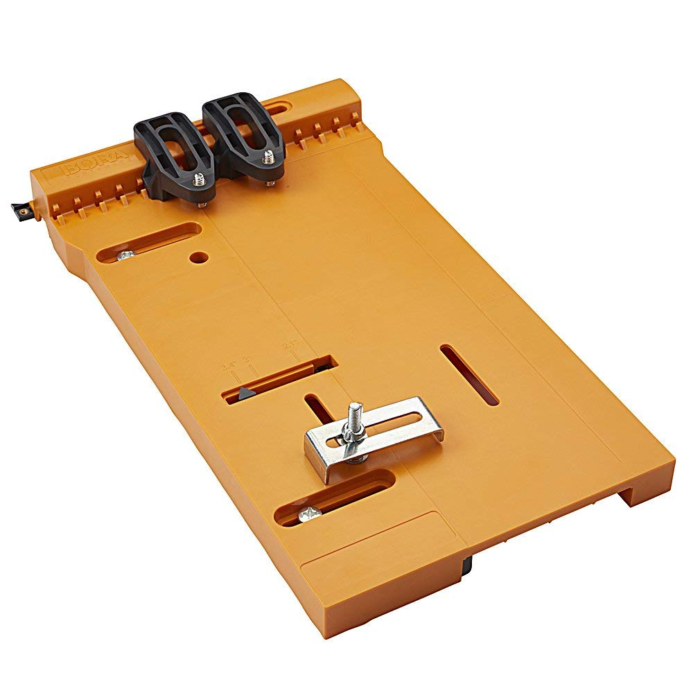 """Bora WTX Clamp Edge 4 pc. set, 50"""" + 24"""" Clamps + 50"""" Extension + saw plate (Renewed) by Bora (Image #6)"""