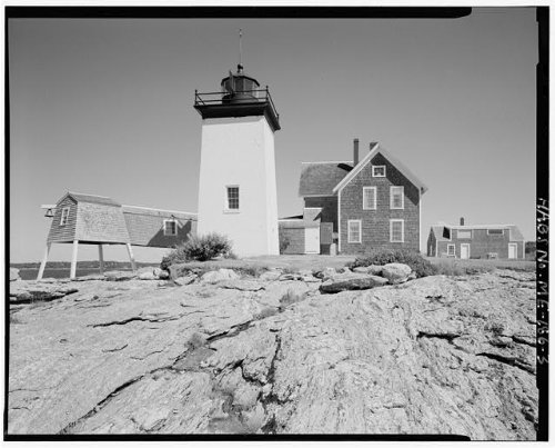 Photo: Hendricks Head Light Station,Beach Road,Southport,Lincoln County,Maine,ME,2 - Southport Two Light