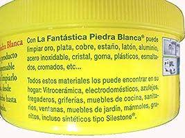 LA FANTASTICA PIEDRA BLANCA (ARCILLA CON REGALO DE ESPONJA) BOTE ...