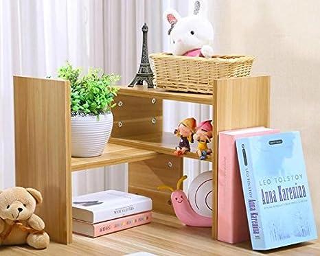 Ufficio Casa Legno : Antimax organizzatore da scrivania in legno naturale libreria