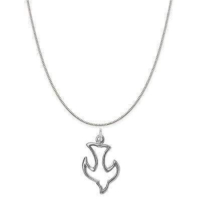 Amazon com: Raposa Elegance Sterling Silver Dove Outline
