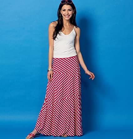 McCalls Patterns MC6966 Y Sizes Extra-Small 4-6// Small 8-10// Medium 12-14 Misses Skirts