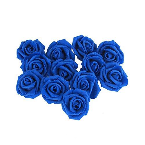 Homeford FNS000008112RYBL Foam Roses Flower Head Embellishment, 1-1/2