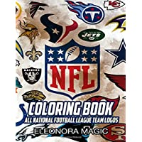 NFL Coloring Book: All National Football League Team Logos