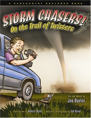 Ever wonder what a storm chaser does? Come along with meteorologist and storm chaser Jon Davies and find out! Davies teaches kids 8 to 12 about severe storms, tornadoes, and storm chasing as he trails a twister in the Kansas countryside. Check out th...