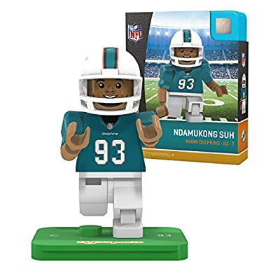 NFL Miami Dolphins Gen4 Limited Edition Ndamukong Suh Mini Figure, Small, White