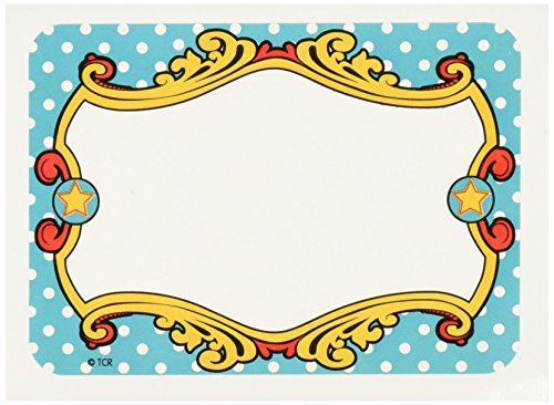 Teacher Created Resources Carnival Name Tags/Labels - Mutli Pack (5709)