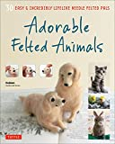 Create cute and realistic felted animals with this fun and easy-to-follow needle felting book. Nothing feels better than a cute, fuzzy animal you can hold in the palm of your hand. Adorable Felted Animals shows you how you can create more tha...