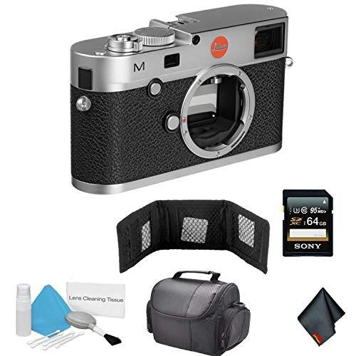 Leica M (Typ 240) Digital Rangefinder Camera (Silver | 10771) Bundle with 64GB Memory - Digital Leica Rangefinder