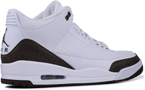 pretty nice 8d503 492a1 Men s Air Jordan 3 Retro Mocha White Dark Mocha-Chrome 136064-122 (Size   11). Nike Men s Air Jordan 3 Retro Mocha White Dark ...