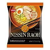 #8: Nissin RAOH Ramen Noodle Soup, Umami  Miso, 107 Gram (Pack of 10)
