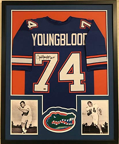 FRAMED JACK YOUNGBLOOD AUTOGRAPHED SIGNED FLORIDA GATORS for sale  Delivered anywhere in USA