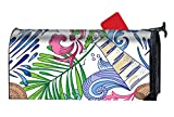 BABBY Custom Magnetic Mailbox Cover Mail Wrap Standard Mailboxes Cover-Travel Sea