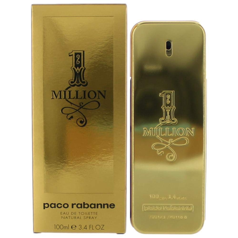 1 Million FOR MEN by Paco Rabanne - 3.4 oz EDT Spray by Paco Rabanne