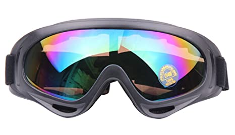 c0ea2516334d Outgeek Ski Goggles Snow Goggles Skate Glasses with Uv 400 Protection  Windproof Lens Sunglasses Goggles for