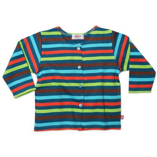 a1e9ea04ca2c Amazon.com  5 Color Striped Baby Jacket - Pagoda - 12M  Infant And ...