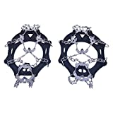 HEART SPEAKER 19 Teeth Claws Spikes Ice Traction System Crampons Non-slip Shoes Cover