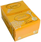 Image of Lindt LINDOR White Chocolate Truffles, Gluten Free & Kosher, 60 Count Box