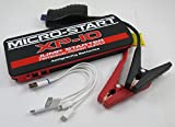 Antigravity Batteries MICRO START XP-10 Mini Car Truck Battery Jump Starter & Charger - Back Up Power Supply - S.O.S. Flaslight - JUMPS A DIESEL TRUCK! Laptop GoPro Cell Phone Charger iPhone
