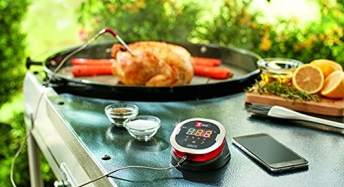 Weber iGrill2 Complete Master Kit with 3 Pro Meat Probes, 1 Ambient Pro Probe and GrillingPros Meat Smoking Guide Magnet by GrillingPros (Image #4)