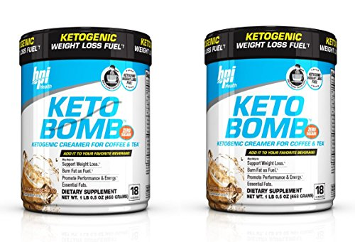 BPI Sports Keto Bomb Creamer Caramel Macchiato (Pack of 2) by BPI Sports