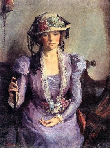 Mary Bradish Titcomb The Lady In Lavender - 21.05