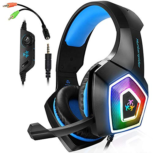 Xbox One Gaming Headset for PS4,PC,LED Light On