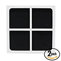 2-Pack Replacement LT120F Refrigerator Air Filter for LG, Kenmore - Compatible with LG LSC22991ST, LG LFX31945ST, LG LFX25991ST, LG LFX31925ST, LG LFX33975ST, LG LFX29927ST, LG LT120F, LG LMX30995ST