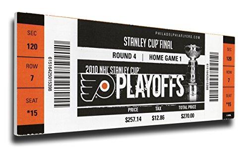 That's My Ticket 2010 NHL Stanley Cup Mega Ticket Wall Decor, Philadelphia Flyers