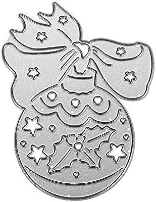 Plantillas de corte para hacer tarjetas, awakingdemi álbum de Navidad molde de metal diseño de troqueles de corte para Scrapbooking tarjeta de papel
