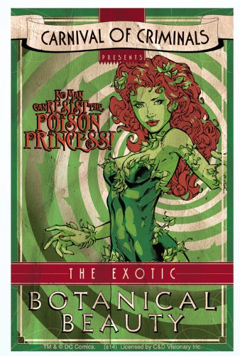 Licenses Products S-DC-0083 DC Comics Batman Poison lvy