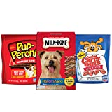 Milk-Bone Meaty Flavor Dog Treats Variety Pack, (P...
