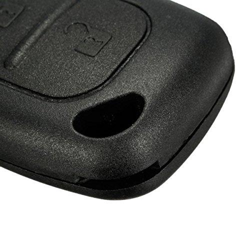 FeLiCia 2 Bouton Kit De R/éparation /À Distance Key Fob Cas pour Renault Trafic Vivaro Master Kangoo