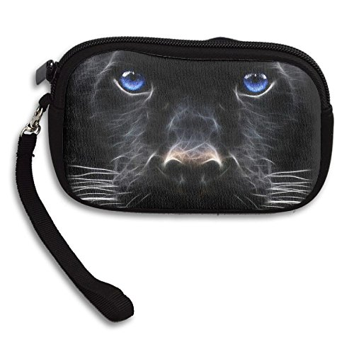 Portable Receiving Small Deluxe Head Purse Black Animal Panther Bag Printing 4fx8awq