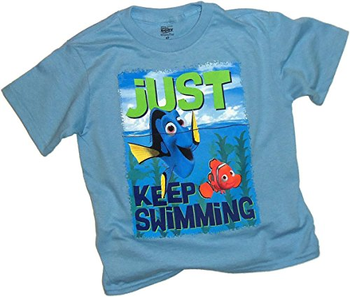 Just Keep Swimming -- Disney Pixar Finding Dory Toddler T-Shirt, Toddler Small (2T) (Swimming Merchandise compare prices)