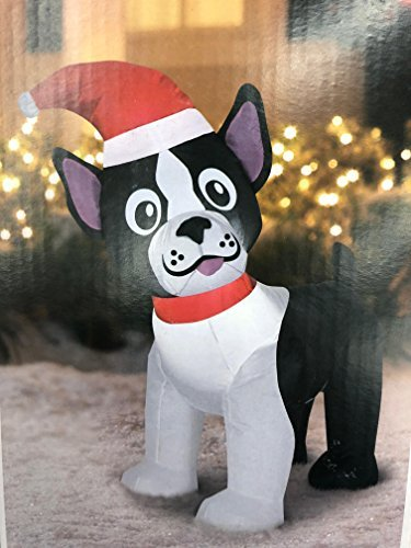 Boston Terrier Holiday Inflatable -