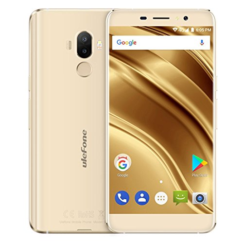 Ulefone S8 Pro 2GB+16GB 5.3 Inch Android 7.0 MTK6737 Quad Core 64-bit up to 1.3GHz WCDMA & GSM & FDD-LTE (Gold)