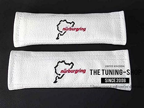 La tuning-shop Ltd 2 x almohadillas de cinturón de seguridad para ...