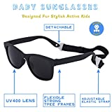 MAXJULI Baby Infant Sunglasses Safe, Soft, With