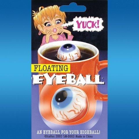 Floating Eyeball Prank-gag by Loftus (Gross Halloween Food Tricks)