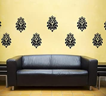 Delightful Baroque, Damask Filigree Vinyl Decal   Classy Wall Art, Sticker Art, Room, Part 31