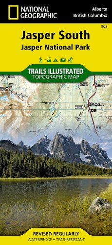 Jasper South [Jasper National Park] (National Geographic Trails Illustrated - South Store Park Map