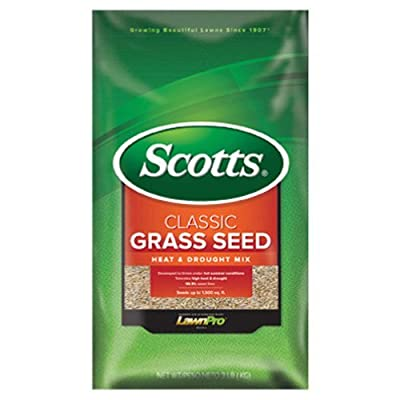 Scotts Company 17293 Classic Heat and Drought Mix Grass Seed, 3-Pound : Grass Plants : Garden & Outdoor
