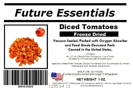 Amazoncom Future Essentials Freeze Dried Diced Tomatoes - Map of tomato purchases in us
