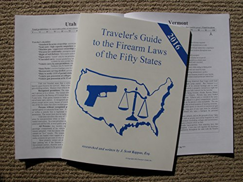 2015 Traveler's Guide to the Firearm Laws of the Fifty States