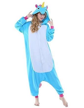 2628e8e86b36b Kigurumi Pyjama Animaux Adulte Unisexe Ensemble de Pyjama Cosplay Costume  Combinaison Soirée de Déguisement: Amazon.fr: Vêtements et accessoires